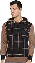 GHPC Checkered Sweatshirt Jacket Full Sleeves Slim Fit Hoodies For Men