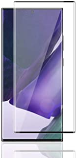 Al-HuTrusHi Samsung Galaxy Note 20 Ultra/Note 20 Ultra 5G Screen Protector, HD Clear 3D [3D Curved] [Full Coverage] Anti-S...
