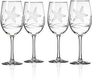 Rolf Glass Starfish All Purpose Wine Glass (Set of 4)