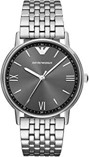 Emporio Armani Men's Quartz Watch, Analog Display and Stainless Steel Strap AR11068