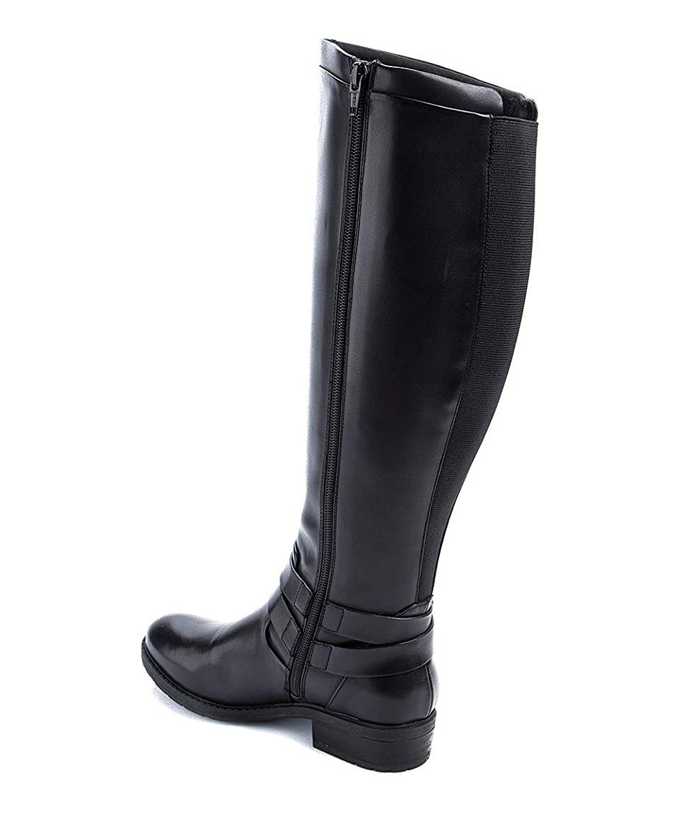 不毛集める知性Bare Traps Womens Yalina Closed Toe Knee High Fashion Boots [並行輸入品]