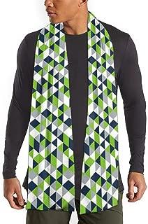 Imported Lightweight Neckwear Blanket Wrap Winter Shawl Purple Chevron Scarfs