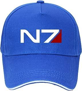 Mass Effect Alliance N7 Insignia Logo Unisex Baseball Hats