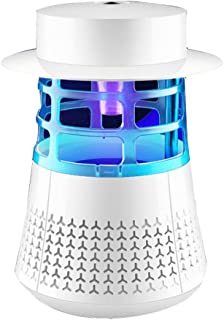 Yxsd M-280 - Farol y luz LED para casa o dormitorio, antimosquitos, sin radiación, cable USB, portátil, camping, escalada, detección de cuevas, uso diario, color blanco