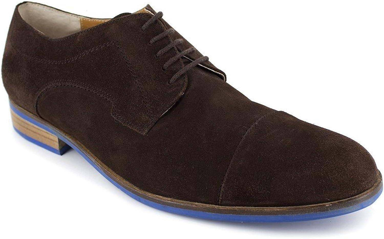 J.Bradford Derby Brown Leather JB-MAITY