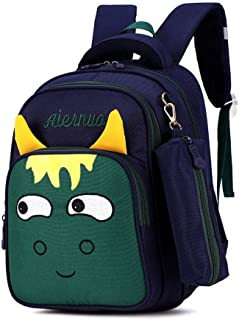 Children School Backpack School Bags for Grades 1 Zhaozb (Color : Green)