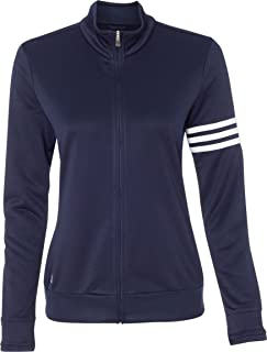 Ladies' ClimaLite 3-Stripes French Terry Full-Zip Jacket