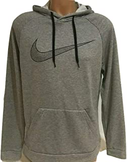 a77a9521f Nike Mens Dry Dri-fit Essential Swoosh Pullover Hoodie Aq5249 063 Gray M