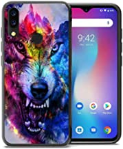 for Umidigi Power Case, ABLOOMBOX Shockproof Slim Thin Soft Flexible TPU Silicone Protective Cover for Umidigi Power Galaxy Wolf