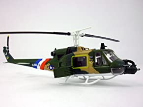 Bell UH-1 Iroquois (Huey) Gunship 1/72 Scale Assembled & Painted Plastic Model