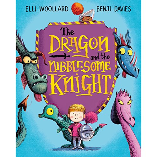 The Dragon and the Nibblesome Knight audiobook cover art