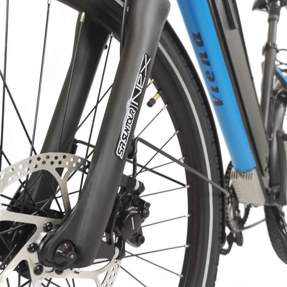 URBANBIKER Bicicleta eléctrica Viena, batería de Litio de 840Wh ...