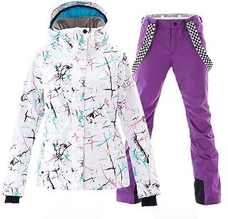 ladies purple ski pants