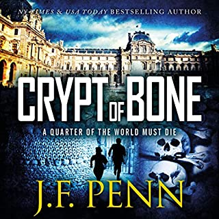Crypt of Bone     An ARKANE Thriller, Book 2               By:                                                                                                                                 J. F. Penn                               Narrated by:                                                                                                                                 Veronica Giguere                      Length: 6 hrs and 25 mins     5 ratings     Overall 4.2