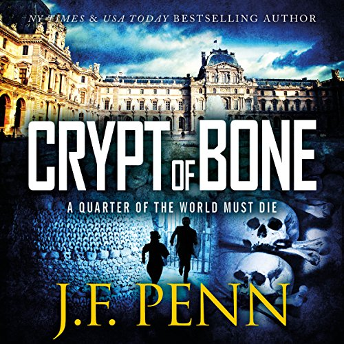 Crypt of Bone     An ARKANE Thriller, Book 2               By:                                                                                                                                 J. F. Penn                               Narrated by:                                                                                                                                 Veronica Giguere                      Length: 6 hrs and 25 mins     35 ratings     Overall 4.1