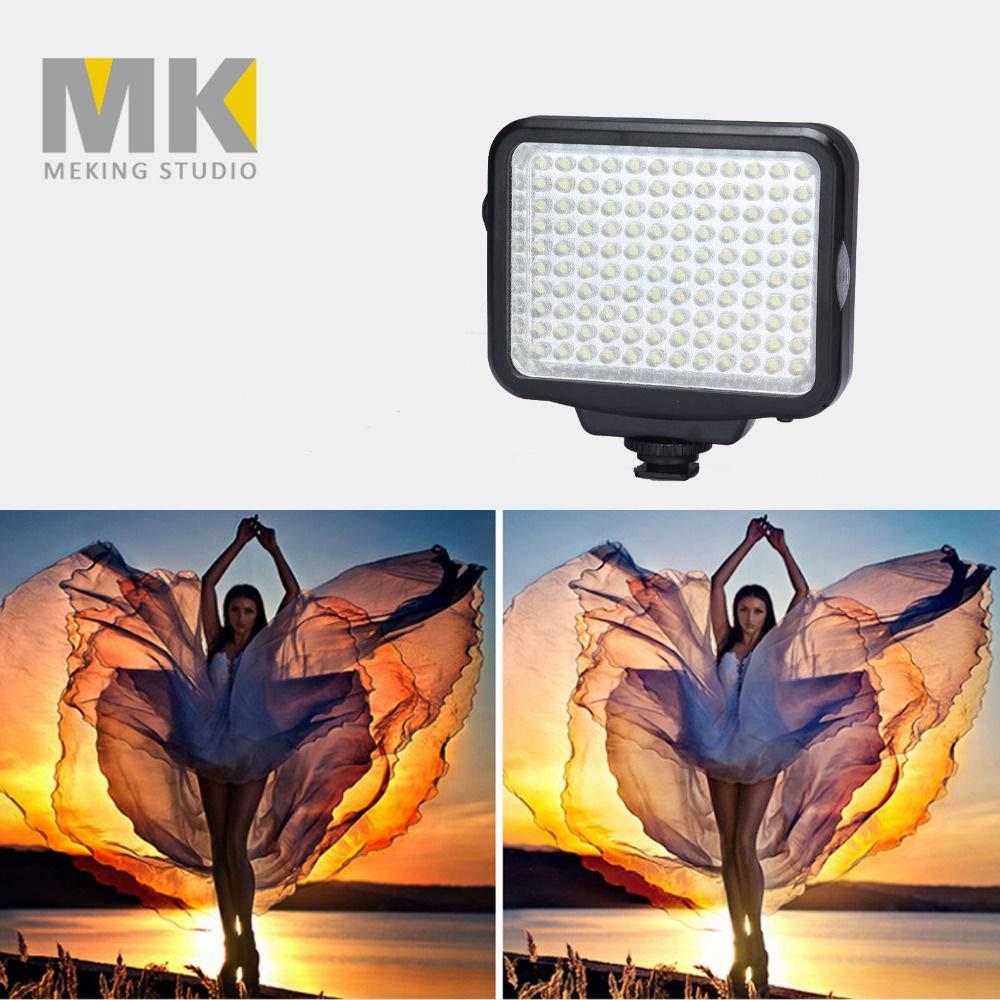 New DBK VL-F120 LED-5009 Max 89% OFF Camcorder Vedio Light Fashion Camera Panel LED