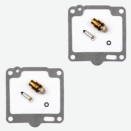 2x Kit Reparaci/ón Carburador Aguja del flotador Getor CAB-Y40
