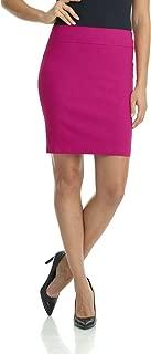 fuchsia skirt outfit