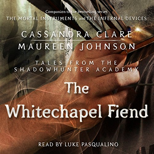 The Whitechapel Fiend audiobook cover art
