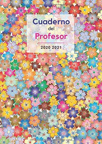 Cuaderno del Profesor 2020 2021: Planificación Práctica para Docentes | Agenda, Planificador semanal, Evaluación académica, Hojas de asistencia, Vista ... A4, Ilustrado: la escuela alrededor del mundo