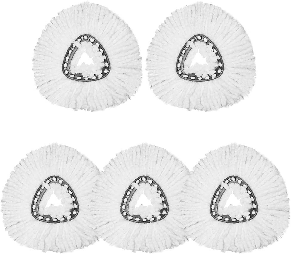 Spin Mop Opening large release sale Replacement Head Ranking TOP7 for Cleani Microfiber Refills Easy