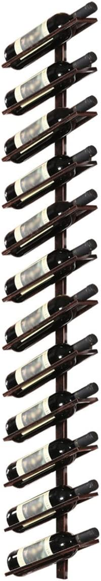 SUNDAY-QH Wine Rack Excellence Bar European Wall Iron Wrought Topics on TV Hanging Style