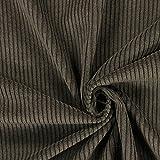 Fabulous Fabrics Cord braun, Uni, 142cm breit – Cord