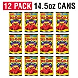 Red Gold Diced Tomatoes Chili Ready, 14.5oz Can (Pack of 12)