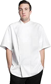 Bragard Men's Julius Short Sleeve Chef Jacket