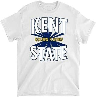 Official NCAA Kent State University Golden Flashes - 19KSTRAY Mens/Womens Boyfriend T-Shirt