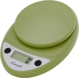 Escali Primo P115TG Precision Kitchen Food Scale for Baking and Cooking, Lightweight and Durable Design, LCD Digital Displ...