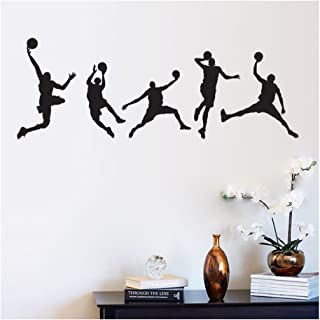 IHRKleid Chambre Salon décoration Boys Sports Basketball (44 * 105cm)