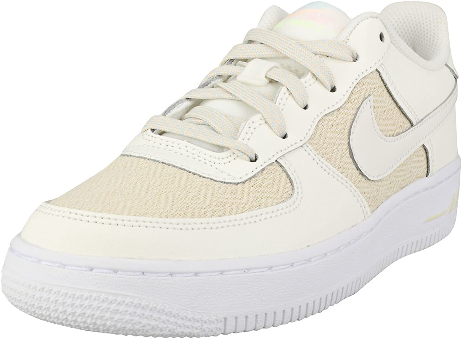 Nike Youth Air Force 1 LV8 Grade School Leather Trainers