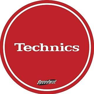 Technics DMC Speedmats - Slipmat para plato de dj, color ojo y blanco