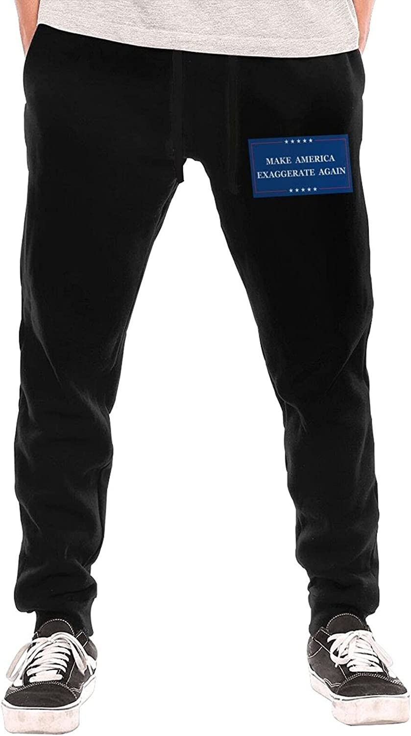 Make America Exaggerate Again Lightw Long Sweatpants Men's In Free Shipping New a popularity