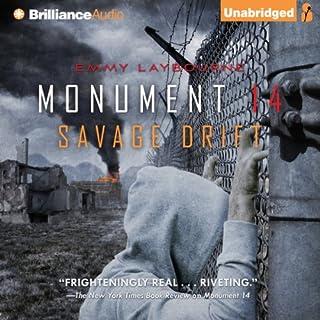 Savage Drift audiobook cover art