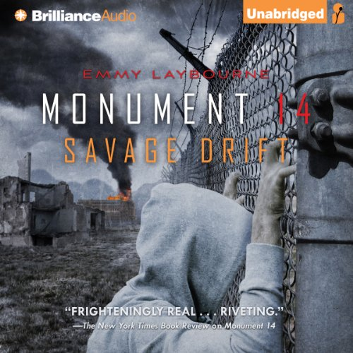Savage Drift audiobook cover art