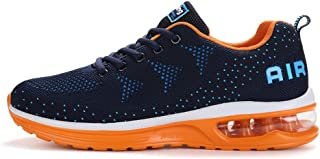 Axcone Homme Femme Air Baskets Chaussures Outdoor Running Gym Fitness Sport Sneakers Style Running Multicolore Respirante-...