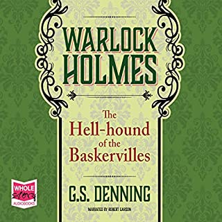 Warlock Holmes: The Hell-Hound of the Baskervilles cover art