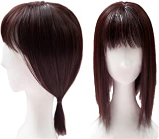 Crown Topper Wiglet Hairpieces for Women with Thinning Hair 14