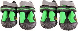 V-Hao Adjustable Dog Boots Non-Slip Tear-Resistence Pet Booties for Dog Waterproof Paw Protectors Durable Dog Hiking Shoes Outdoor