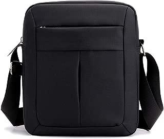 small black messenger bag
