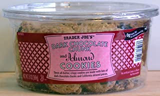 Trader Joe's Dark Chocolate Chunk And Almond Cookies