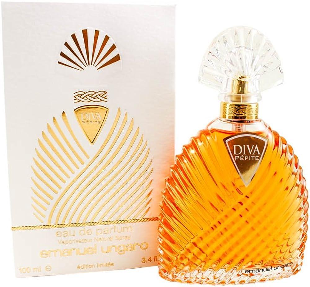emanuel ungaro diva pepite, eau de parfum,profumo per donna, spray , 100 ml 1ub1950