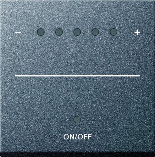 Gira 226028 System2000 Aufsatz Touchdimmer System 55, anthrazit