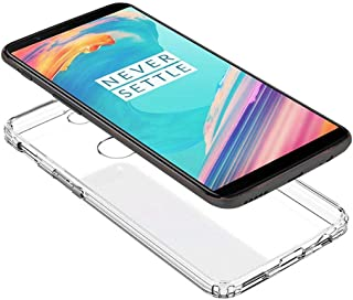 Oneplus 5T Corners protection Transparent Case, AmG