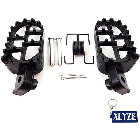 XLJOY Footpegs Foot Pegs Rest for Pit Dirt Bike Honda XR50R CRF 50 CRF70 CRF80 CRF100F