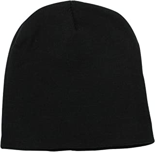 Short Plain Beanie - Winter Unisex Plain Knit Hat