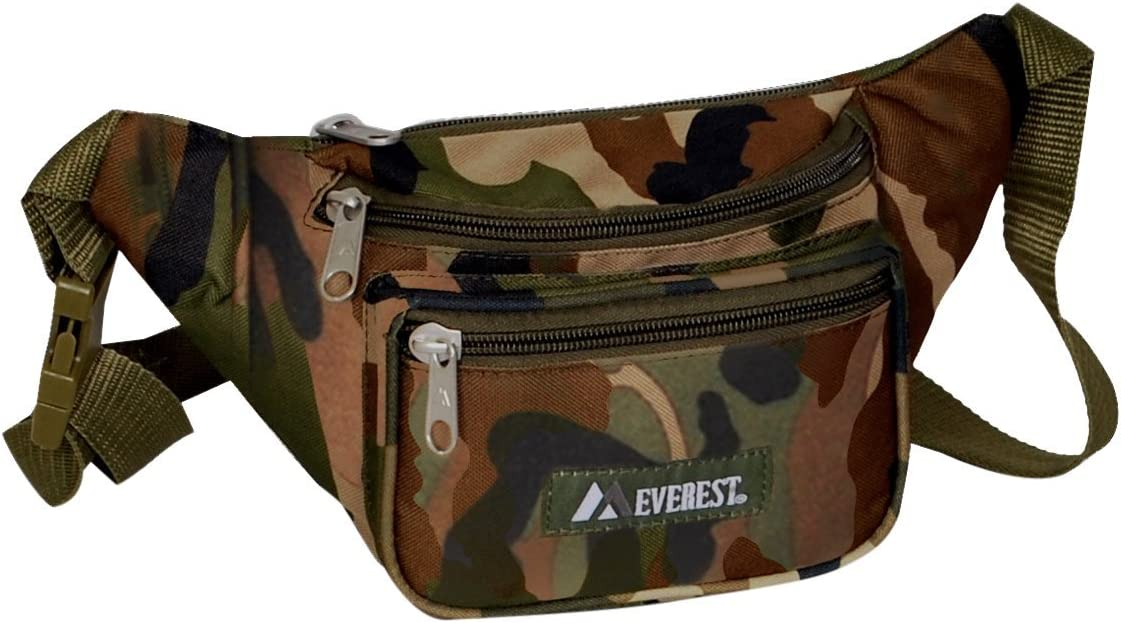 Everest Cheap mail Max 85% OFF order specialty store Woodland Camo Waist C044KD-CAMO Size One Pack