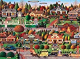 Buffalo Games - Charles Wysocki - Labor Day in Bungalowville - 1000 Piece Jigsaw Puzzle